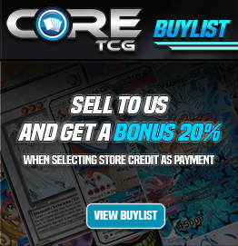 Check out our buylist - 20% bonus for store credit payment